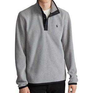 Ralph Lauren LS Fleece Mockneck Pullover Shirt NEW
